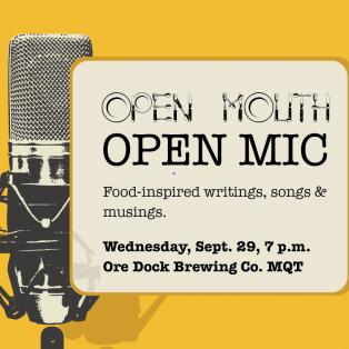 Open Mouth Open Mic night to be held at Ore Dock