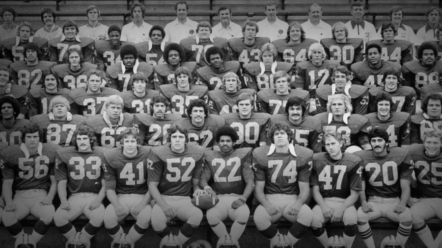 UNLIKELY CHAMPIONS - The 1975 football team made the ultimate comeback after losing every single game the year before. The documentary Put Your Hand On The Line captures their story and the hardships they encountered to win the title of National Champions.