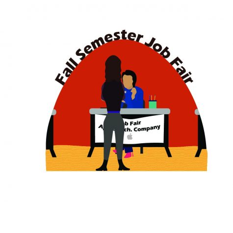 Career Services hosts the 54th annual Fall Semester Job Fair