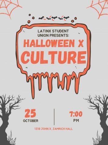 Graphic courtesy of Latinx Student Union