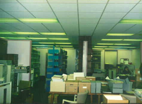 Photo courtesy to NMU Archives BLAST TO THE PAST—Located in the basement of the library, NMU Archives is home to all historical records from campus and the central U.P.