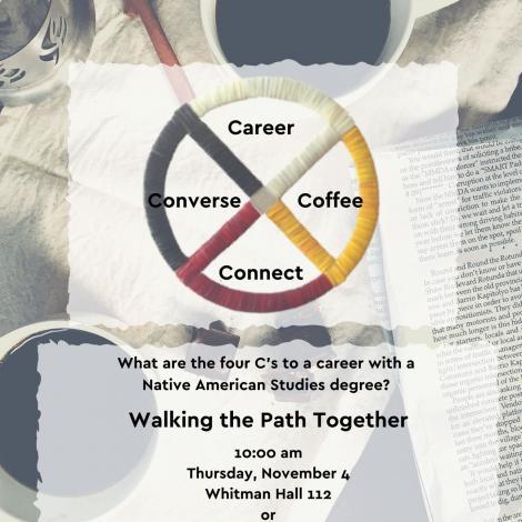 Coffee hour explores career opportunities in native communities